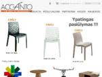 Accanto - baldai ir interjero detalės