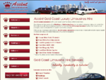 Acceacute;nt Limousines Luxury Limousine Limo Hire On The Gold Coast Welcome