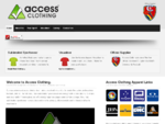 Access Clothing - Home