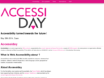 Accessiday  05282014 - Accessibility turned towards the future !