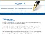 Acconta GmbH - Steuerberatung, Wirtschaftspruuml;fung und Unternehmensberatung in Muuml;nchen