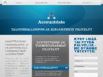 Kirjanpito, palkanlaskenta - Tilitoimisto Helsinki, Riihimäki - Accountdata HS Oy