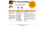 Pro Accounting - Redovisning och bokföring med personlig service