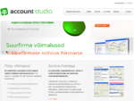 AccountStudio majandustarkvara pakub suurfirmale sobivat funktsionaalsust väikefirmale sobiva hinnag