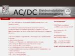 ACDC Elektroinstallation und Elektrosteuerungen GmbH Berlin