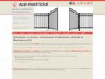 « Présentation  Electricien 82  ACE »