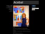 Exposition et présentation des peintures de l'artiste Acebal