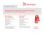 Elektronické zabezpečovací systémy | ACESYS s. r. o.