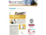 ACFIE  Application Climatique Froid Industrie Electricité