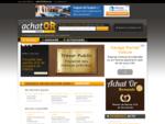 Achat or France - Guide national de l'achat or  annuaire des comptoirs de rachat d'or, conseil ...