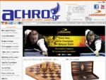 Μπιλιάρδα | Στέκες | Αξεσουάρ Μπιλιάρδου - Billiards | Cues | Achro