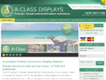 Display Banners Perth WA - Exhibition Stands | A-Class Displays