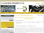 Electroplating and Metal Finishing Services - A Class Metal Finishers Pty Ltd
