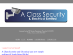 A Class Security Electrical Limited. CCTV Cameras, Alarms, Access Control