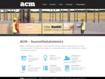 Etusivu | ACM - Suunnittelutoimisto