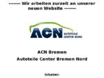 ACN Bremen - Waldemar Grossmann