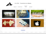 A CNC – Freesimine ja reklaam – valgusreklaam, välireklaam, eritööd, seeriatootmin