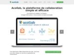 Acollab, la solution collaborative en ligne