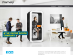 Framery Oy - Framery Phone Booths - Phone Booths For Open Plan Offices