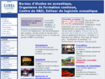 Gamba Acoustique - Bureau d'études acoustique, formation, RD, logiciels acoustique
