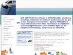 ACP Services Plombier Montpellier entreprise de plomberie, chauffage, installateur gaz et énergie