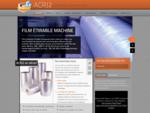 ACRJ2 - Emballage plastique Films étirable, film bulle, sacs et sachets, adhésifs, emballage .