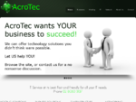 Acrotec It network services and support one stop shop