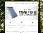 ACS Energie | Verdeler van Zonneboilers, Pelletkachels Pelletketels