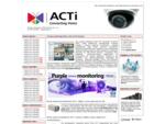 Kamery sieciowe ACTi i cyfrowe rejestratory video QNAP dla systemà³w monitoringu. Prezentujemy prod