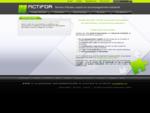 ACTIFOR, bureau d'études, expert en gestion de projet industriel de produits nouveaux dans le mo...