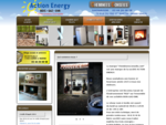 ACTION ENERGY, Accueil