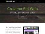 Active Net. Creazione Siti Web Cagliari, Sardegna.