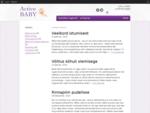 ActiveBaby | ActiveBaby
