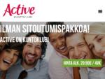 Active kuntoklubi | Herttoniemi, Kerava, Puistola, Savio