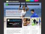 Active Education - spesialisten på idrettsstudier i Norge og utlandet!