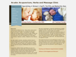 Acudoc Acupuncture, Herbs and Massage Clinic - Home