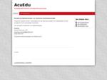 AcuEdu - httpwww. acuedu. fi