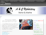 A C Upholstery, Auto | Marine | Furniture upholstery specialists for the Sunshine Coast