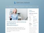 Anna Andrasik - administracja nieruchomości księgowa i eksploatacyjna obsługa wspólnot mieszkaniowy