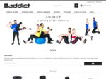 Sklep z odzieżą sportową Addict
