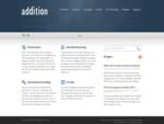 Addition IT levererar nyckelfärdiga lösningar för identitetshantering baserade på Forefront Identity