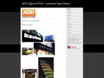 Arthur Diamond Design - Signmaker Liverpool - Home