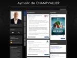 Aymeric de Champvallier - Opérateur de télésurveillance et vidéosurveillance. Je vous invite...