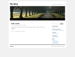 My Blog | Just another WordPress site