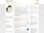 CV de Adeline Poulet