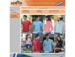 Společnost Adeta Trade se zabývá velkoobchodním prodejem reklamního textilu. Jako jediná zastupuje