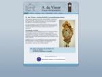 A. de Visser Uurwerkreparaties in Nieuw-Beijerland repareert klokken, horloges en andere uurwerken