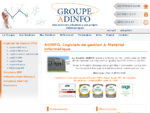 ADINFO, spécialisée dans la mise en place de logiciels de gestion  EBP, SAGE, API...