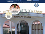 Hotel, igralni salon in restavracija Resort Admiral Kozina.