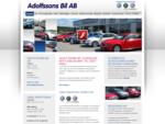 Adolfssons Bil AB | Bilhandlare, bilförsäljning, Tranemo, begagnade bilar, VW, Skoda